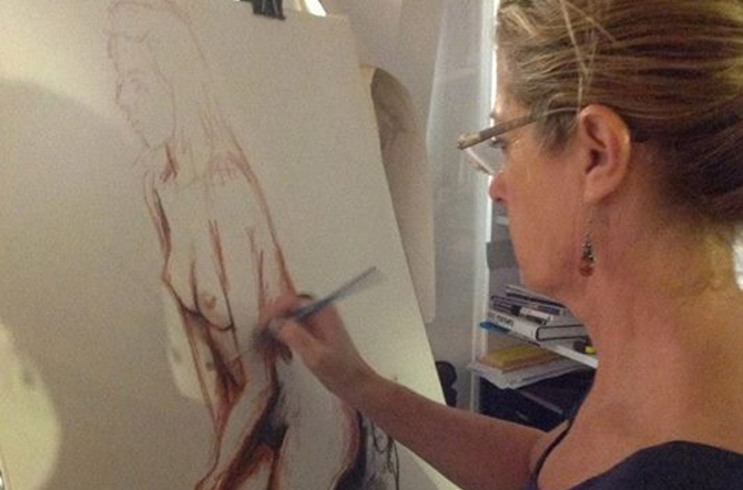 Life Models and the Art They Inspire | Muddy Colors