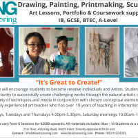 Hong Kong Art Tutoring | Student Art Classes
